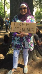 Available for free listening at rally in Marshal Park, Charlotte NC  Sept. 24, 2016