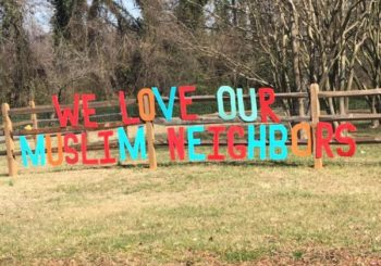 A Charlotte church put up a sign about its Muslim neighbors. Then the neighbors spoke back.